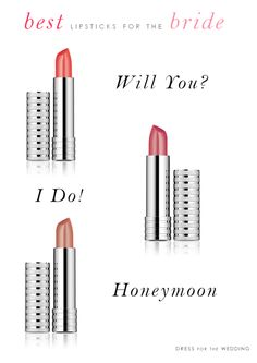 Best lipsticks for the bride for your wedding day!