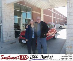 GARY G WAS GREAT! WE FELT AT HOME DURUNG THE ENTIRE SALES PROCESS. IT WAS OUR 2ND PURCHASE AND WE WILL KEWEP COMING BACK TO GARY! WILLO REC SW KIA TO ALL OUR FRIENDS! - MARGARET MORRIS  Tuesday, March 05, 2013