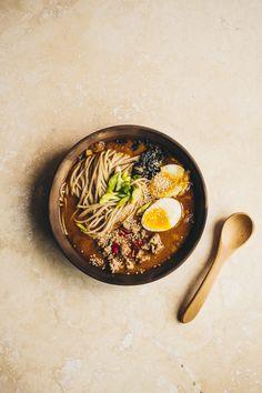 Ramen Recipes, Asian Recipes, B Food, Food Pictures, Food Pics, Sushi, Quick Meals, Food Dishes, Fotografia