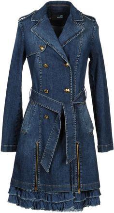 Denim Outerwear - Lyst  Loooooove Moschino
