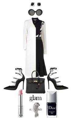 Job Day 734 by minigiulia on Polyvore featuring polyvore fashion style FAUSTO PUGLISI Alberto Biani Dolce&Gabbana Dsquared2 Cartier David Yurman Hermès Linda Farrow Christian Dior Naeem Khan clothing