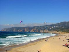 A Praia do Guincho é uma praia na freguesia de Alcabideche, no concelho de Cascais, em Portugal, distando cerca de 8 km da sede de concelho. Já na costa ocidental atlântica, é muito ventosa e dispõe de boas condições para a prática de surf, kitesurf e windsurf,e é das poucas praias da região de Lisboa, ...