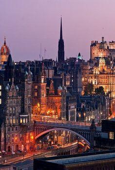 Calton Hill ~ Edinburgh, Scotland