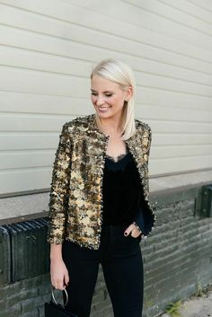 a09cff9c067 ZARA NEW AW17 GOLD TAN SEQUINNED TWEED JACKET SIZE M REF.7853/661 #