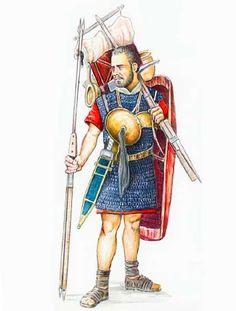 Roman legionnaire during the Gallic Wars