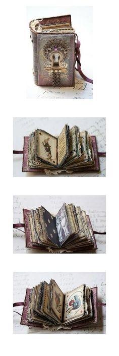 Alice in Wonderland mini book by Sarah Fawcett