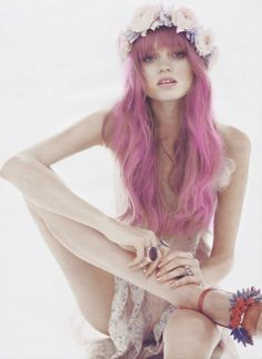 i want pink hair for a day