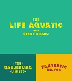 Wes Anderson Movie Titles | Kyle Steed