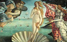"Sandro Boticcelli - ""Birth of Venus"" (1485)"