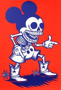Dead Mickey | illustration by Artemio Rodriguez