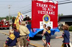 memorial day parade float ideas
