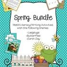 This Spring Bundle includes phonics pages, math games and worksheets, nonfiction readers and diagrams, and writing pages with three spring themes (...
