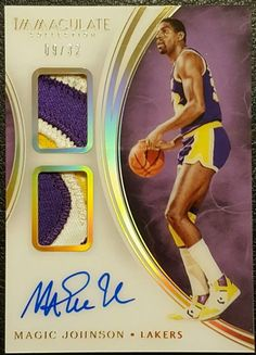 Magic Johnson Lakers, Basketball Cards, Trading Cards, Beach Mat, Outdoor Blanket