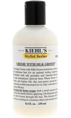 """AMAZING. Read about it in """"In-Style"""" magazine, years ago. This creme goes on your hair damp, and is pure magic. I don't use many other Kiehl's products- they are somewhat pricey- but this stuff is a celebrity hair dresser's secret and the best thing you can transform crap hair to transformed glamour. For Real."""