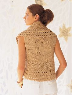 Ravelry: #04 Botanica Medallion Cardigan pattern by Shiri Mor