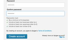 Great way of explaining password requirements