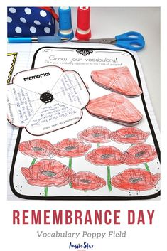 Commemorate Remembrance Day with your upper primary students with this highly engaging and hands on activity pack. It features seven activities including a unique reading comprehension text and flip book, vocabulary and poetry analysis and persuasive writ Interactive Activities, Hands On Activities, Writing Activities, Remembrance Poppy, Remember The Fallen, Armistice Day, Anzac Day, Persuasive Writing, Field Day