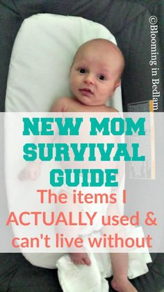 New Mom Survival Guide- The items I ACTUALLY used & can't live without including swaddles, bottles, books & nursing essentials. The VERY BEST baby products.