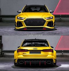 A3 8p, Street Racing Cars, Audi Rs6, Yellow Car, Audi Sport, Sweet Cars, Car Tuning, Motor Car, Motor Vehicle