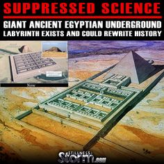 Suppressed Science: Giant Ancient Egyptian Underground Labyrinth Exists and Could Rewrite History | Stillness in the Storm