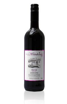 A premium-quality de-alcoholised red wine made from 100% merlot grapes. A genuine dry red wine with typical Merlot flavours of black berries. With its full-bodied rich bouquet it suits dark meat and dishes with red wine sauce.Calories per 100...