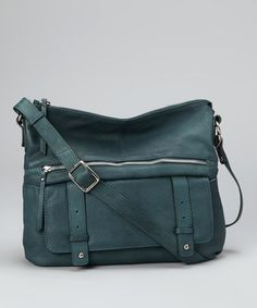Take a look at this Petrol Large Pocket Crossbody Bag by Nino Bossi Handbags on @zulily today! PERFECT size- I just ordered it!