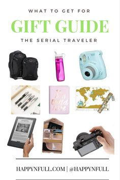 Gift guide for Travelers | Best gifts for travelers | What to get a traveler for Christmas | Practical travel essentials