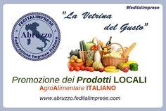 La Vetrina del Gusto pieno sostegno di Feditalimprese Abruzzo promozione delle imprese locali