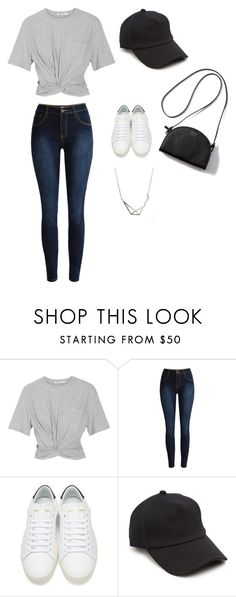 """""""Do even the smallest things"""" by minee1997 ❤ liked on Polyvore featuring T By Alexander Wang, Yves Saint Laurent and rag & bone"""