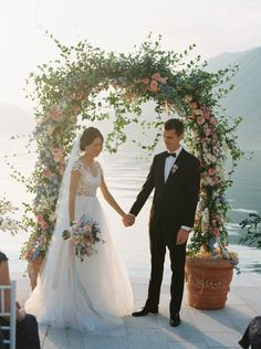 The Vault: Curated & Refined Wedding Inspiration - Style Me Pretty Wedding Gowns, Wedding Flowers, Wedding Gallery, Montenegro, All Design, Evening Gowns, Style Me, Backdrops, Dream Wedding