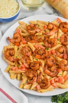 This Creamy Cajun Shrimp Pasta Recipe is going to be your new favorite weeknight night meal! Made with homemade cajun seasoning, delicious shrimp, creamy sauce, and penne noodles comes together in a snap.