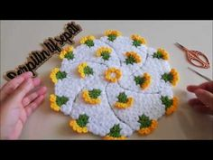 Easy Rangoli Designs Diwali, Simple Rangoli, Cd Crafts, Diy And Crafts, Weaving Patterns, Crochet Patterns, Woolen Craft, Crochet Hats, Youtube