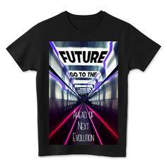 Go to the Future   デザインTシャツ通販 T-SHIRTS TRINITY(Tシャツトリニティ)