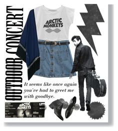"""Outdoor Concert - Arctic Monkeys"" by aguniaaa ❤ liked on Polyvore featuring INDIE HAIR and Chicnova Fashion"