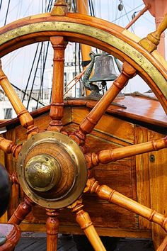 Star Of India Tall Ship at the Helm #tallship #helm #starofindia wodenboat…