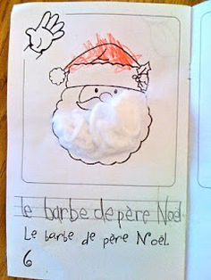 Christmas Five Senses Book I introduce the senses all at once at the end of November and beginning of December. We complete our study . French Teacher, French Class, French Lessons, Teaching French, French Resources, Learn French, Social Science, Teaching Tips, Winter Holidays