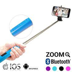 Bastone Selfie Bluetooth con Zoom Adventure Goods 4,14 € Fatti trascinare dalla nuova moda dei selfie con il bastone selfie bluetooth con zoom! Questo pratico e semplice bastone è ideale per immortalare i tuoi migliori momenti durante i tuoi viaggi! Da solo o in compagnia fai le foto e i video migliori con questo monopiede con zoom. Èestendibile (da circa 23,5 a 110 cm) e possiede un interruttore di accensione e spegnimento e due bottoni (+ / -) per avvicinare o allontanare…