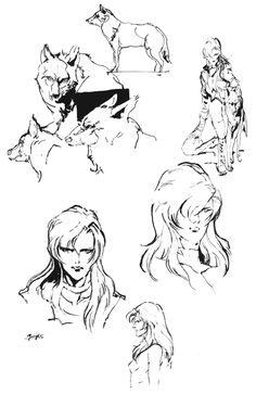 Sniper Wolf Sketch, Metal Gear Solid 1
