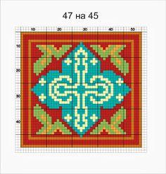 миниатюрные ковры, миниатюрная вышивка, авторские схемы, вышивка, вышивка гладью.