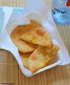 Stuffed Aloo puri recipe -  kids lunchbox recipes
