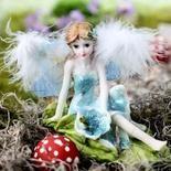 Breena Feathered Fairy Figurine