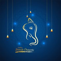 Ganesh Chaturthi Greetings, Happy Ganesh Chaturthi Wishes, Ganesh Chaturthi Images, Ganpati Invitation Card, Invitation Card Design, Paint Splash Background, Free Vector Graphics, Vector File, Ganesh Wallpaper