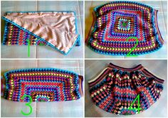 crochetingclub: crocheting waves & bags