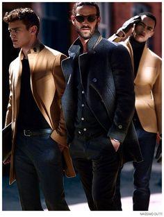 Bo, Matthew & Cameron are Sharp Suit Men for Massimo Dutti image Sharp Suit Men Massimo Dutti 004