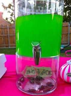 Turtle juice?? 7up and green Hawaiian punch