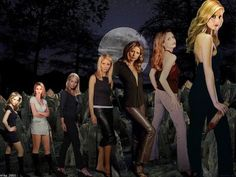 buffy through the years    very cool :)