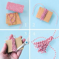 T craft, diy craft projects, how to make tassels, easy diy gifts, d Diy Craft Projects, Diy And Crafts Sewing, Crafts For Kids, Arts And Crafts, Diy Crafts, Yarn Projects, Diy Tassel, Tassles Diy, Card Making Inspiration