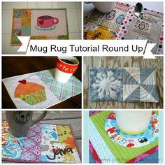 Mug Rug Pattern with UFO Quilt Blocks {52 UFO Quilt Block Pick Up}