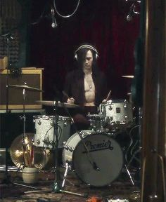 Tom Hiddleston playing musical instruments in Only Lovers Left Alive (gifset).  This movie may just be the death of me: Hiddles as a romantic, musically talented vampire...