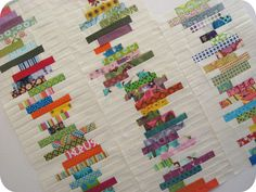 stacked books quilt